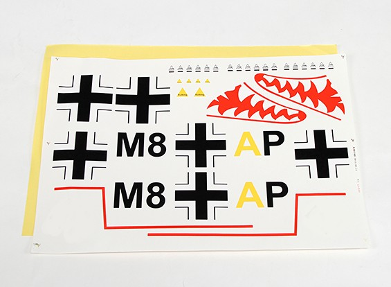 Durafly ™ Messerschmitt Bf.110 - Decal