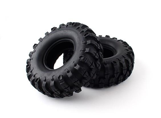 """1/10 Scale 1.9 """"Crawler Tire / KRT Plus met insert (2 stuks)"""