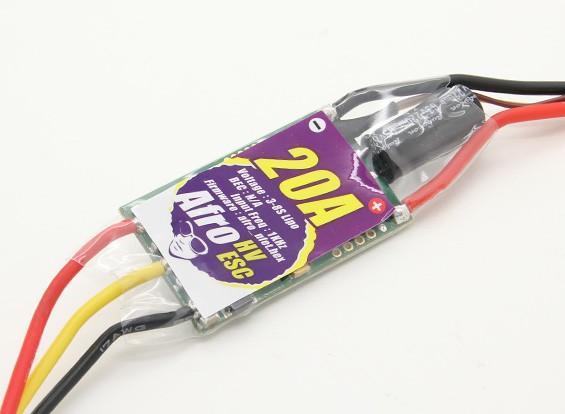 Afro HV 20A multirotor ESC High Voltage 3 ~ 8s