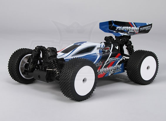 Turnigy 16/01 Brushless 4WD Racing Buggy w / 25A Power System en 2.4Ghz Radio (RTR)