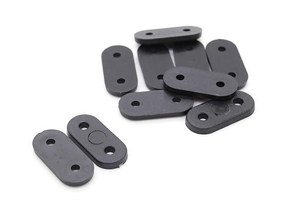 Landing Gear riemen (zwart) 10PC