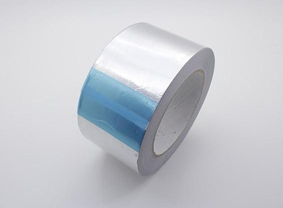 Aluminium zelfklevende folie Tape 60mm x 38m x 0.06mm