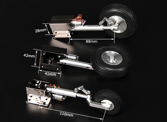 Turnigy Delux Full Metal Injection Alloy Servoless intrekken (Tricycle) T 34 Mentor