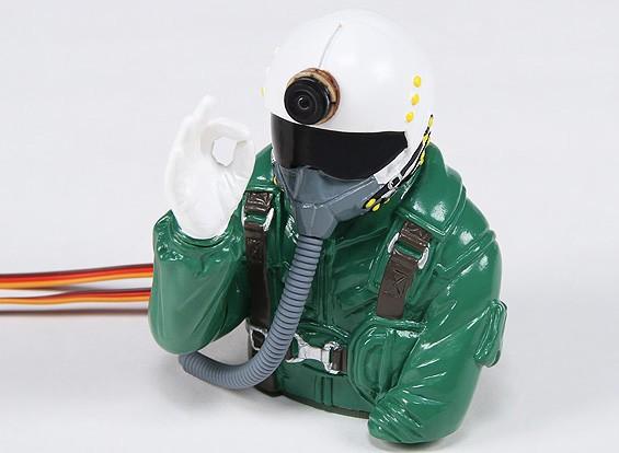 Dr. MadThrust Gebouwd in HD Cam Jet Pilot (H93 x W75 x D90mm)