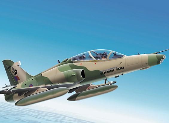 Italeri schaal 1/72 Hawk Mk.100 plastic model kit