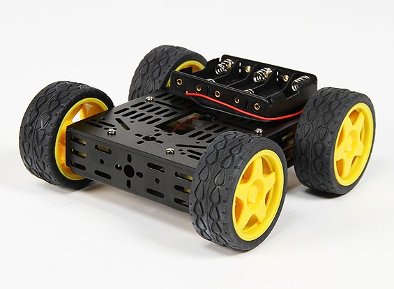 DG012-BV (Basic Version) 4WD Multi Chassis Kit Met Vier RubberWielen
