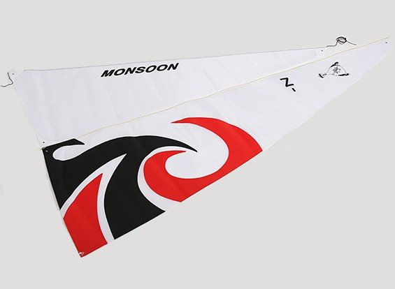 RC 1.8MTR Monsoon Sailboat - Sail Set (2 stuks)