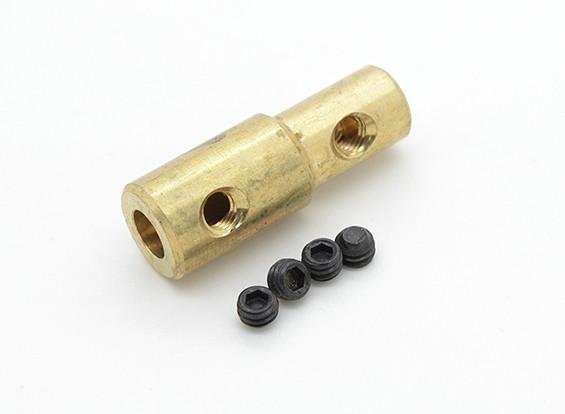 5mm tot 3mm Shaft Coupling Voor Quanum Aquaholic / Relentless Racing Boten