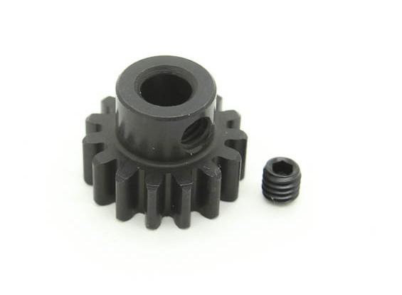15T / 5mm M1 gehard Pinion Gear (1 st)