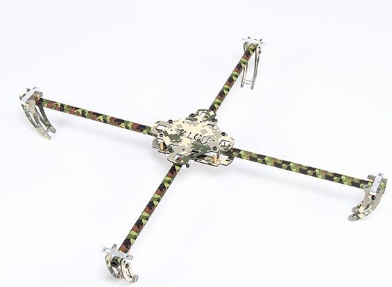 Turnigy Tactical Talon Camouflage Quad-copter Frame (490mm)