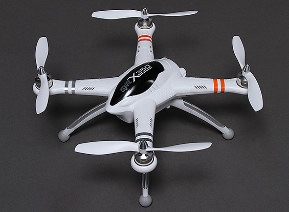 Walkera QR X350 GPS Quadcopter met Return to Home Function en DEVO 7 (Modus 1) (RTF)
