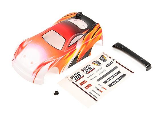 Polycarbonaat Body Shell - Turnigy TZ4 AWD