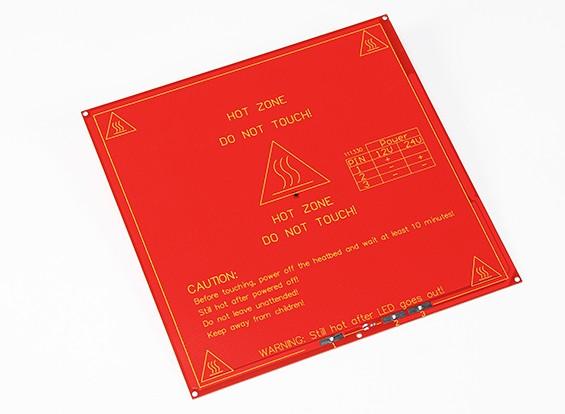 3D-printer Hot Plate MK2B Dual Power RepRap Mendel en RAMPS Compatible