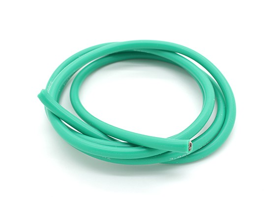 Turnigy Pure-Silicone Draad 12AWG 1m (Groen)