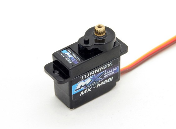 Turnigy ™ MX-M801 Micro MG Servo 2kg / 0.10sec / 12g