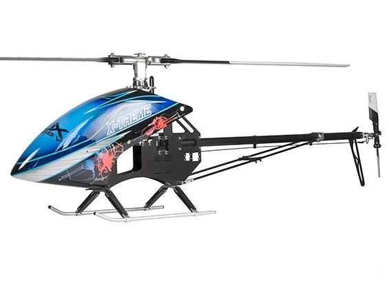 RJX X-treme 50 EP 600 Afmetingen Helicopter Kit (Belt Version)