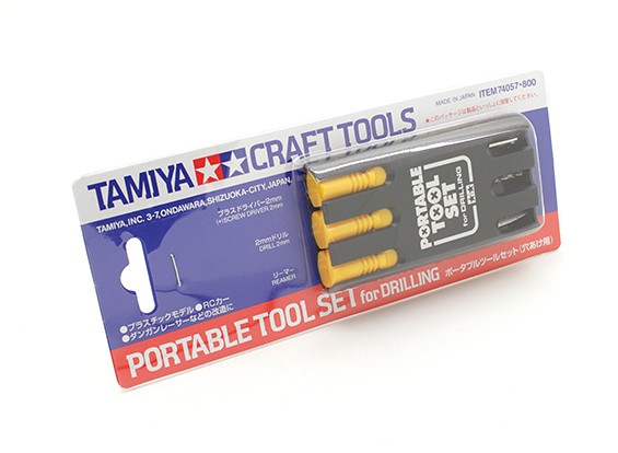 Tamiya Portable Tool Set voor Drilling