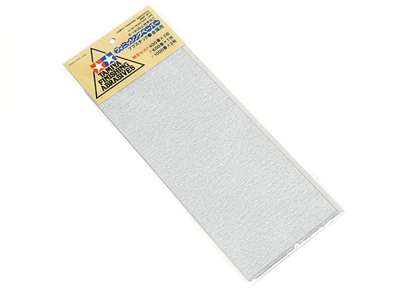 Tamiya Finishing Abrasives - Fine Set (5-delige)