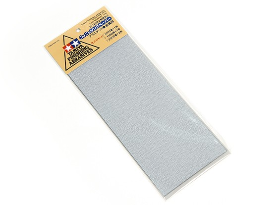 Tamiya Afwerking Wet / Dry Sandpaper - Ultra Fine Set (5-delige)