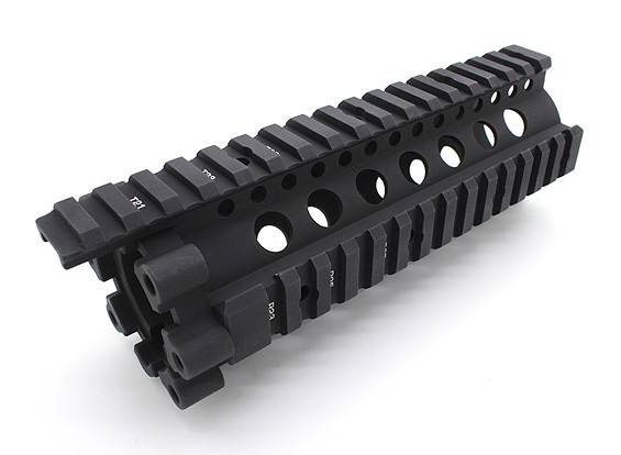 MADBULL Daniel Defense 7inch 7,62 Lite Rail (zwart)