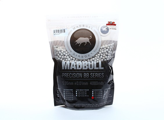 Madbull Precision 0,20 g Bio-afbreekbare BB 4000rds Bag