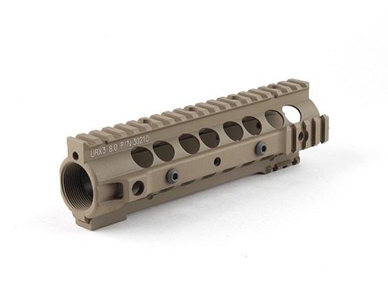 Dytac UXRIII 8.0 RAS voor Systema PTW Profile (1 1/4 inch / 18, Dark Earth)