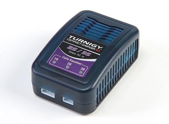 Turnigy E3 Compact 2S / Lader 3S Lipo 100-240 (US Plug)