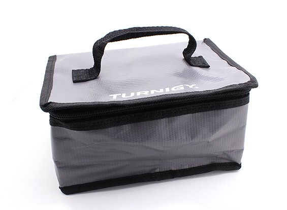 Turnigy Brandveilige LiPoly Battery Case 220x115x120mm (grijs / zwart) (1 st)