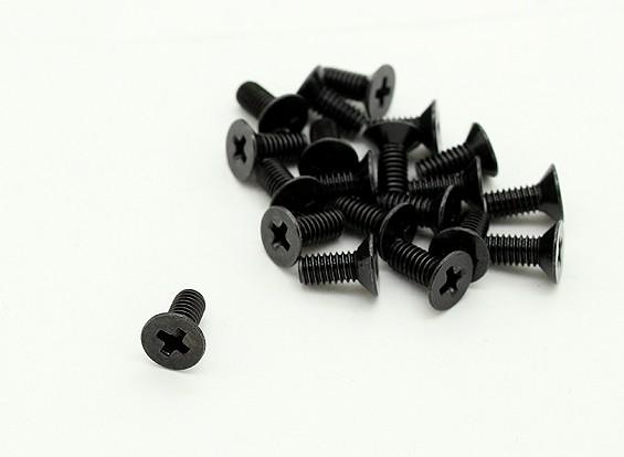 RotorBits M2.5 x 6 mm verzonken Schroeven (20st)