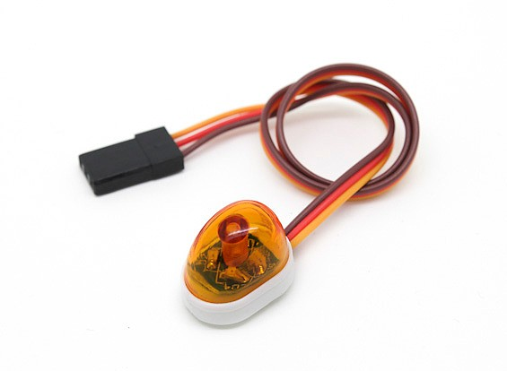 Recovery Vehicle Single LED Light (Amber)