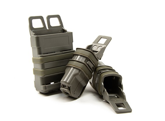 FMA FastMag tijdschrift holster voor M4 & Pistol mag set (Foliage Green)