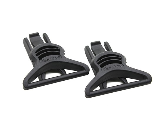 FMA Goggle Swivel Clips 36mm (Zwart, 2pcs / pack)