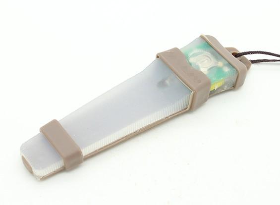 FMA Velcro Safety Light (Groen)