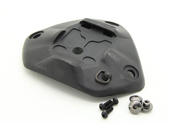 FMA Helmet Plastic NRT Universal Scherm (zwart)