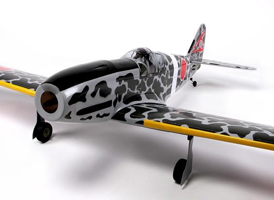Kawasaki Ki 61 Tony Balsa 46 grootte 1540mm (ARF)
