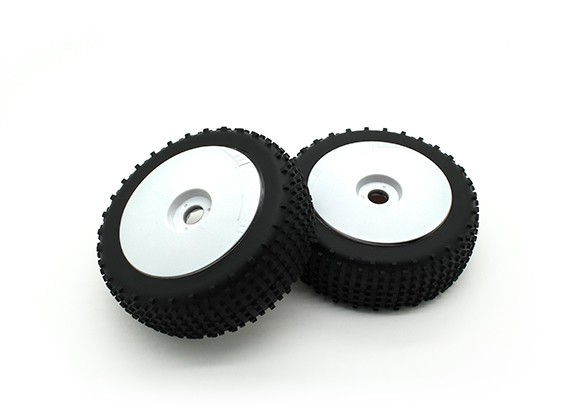 1/8 Schaal Pro Dish wielen met banden (2pc)