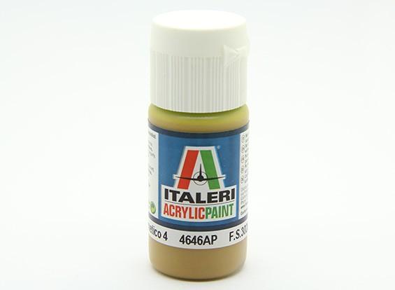 Italeri Acrylverf - Flat Giallo Mimetico 4