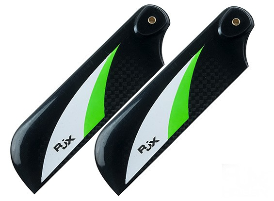 RJX Vector Green 105mm Carbon Fiber Tail Blades