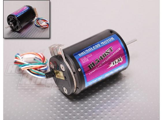 TP540-11.5T 3350kv Brushless R / C Auto Motor w / sensor