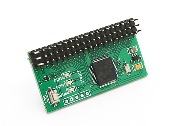 RMILEC High-Precision PWM / PPM / SBus Signal Converter V2