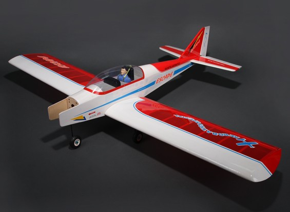 Ontsnappen Sport Low Wing Trainer Balsa GP / EP 1580mm (ARF)