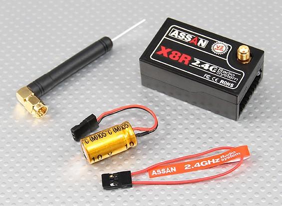 X8R 2,4 GHz 8-kanaals receiver