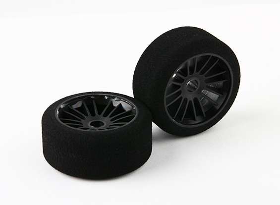 "Xceed ""Enneti"" 1/10 WGT Carbon Voor Foam Tire Set (Soft SH30)"