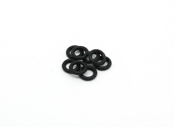 O-ring voor Diff. (8 stuks) - BSR Racing BZ-222 10/01 2WD Racing Buggy