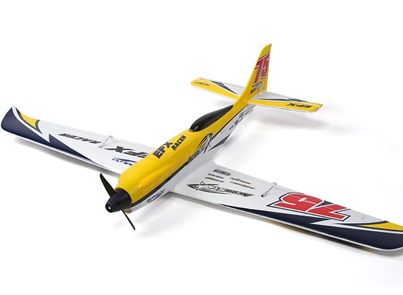 Durafly ™ EFX Racer High Performance Sports Model (PNF) - Yellow Edition