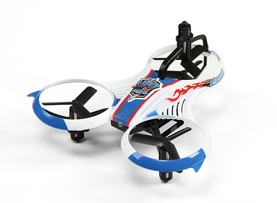 MINI UFO Y-4 Micro Multicopter w / 2.4GHz Transmitter en Auto-Flip Functie (Mode 2) (Ready to Fly)