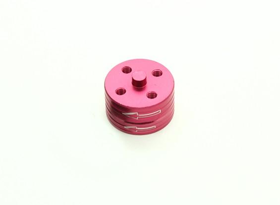 CNC Aluminium Quick Release Self-Aanscherping Prop Adapters Set - Rood (Linksom)