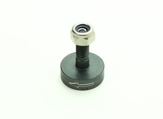 CNC Aluminium M6 Quick Release Self-Aanscherping Prop Adapter - Titanium (Prop Side) (tegen de klok)