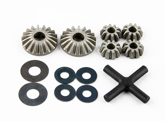 Basher RZ-4 1/10 Rally Racer - Optionele Hard Coated Diff. Gear Set