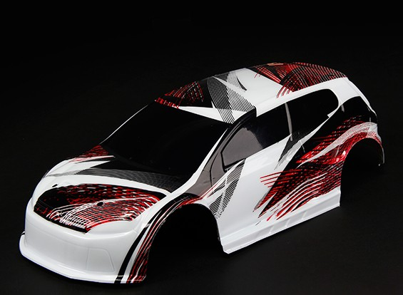 Basher RZ-4 1/10 Rally Racer - Pre-Painted Body Shell